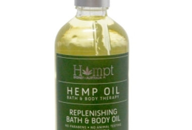 Hempt - Replenishing Bath & Body Oil