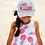 Thumbnail: Hatley - Pink Palms Baseball Cap