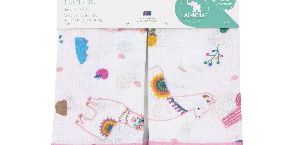 All4Ella - Security Blanket 2-Pack - Alpaca