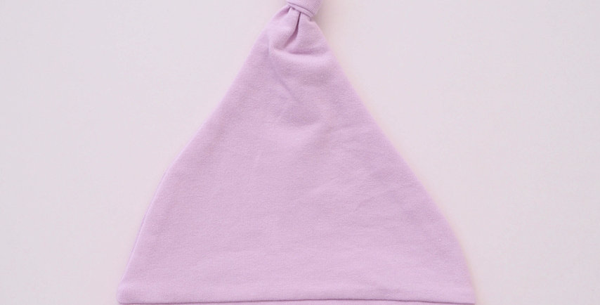 Snuggle Hunny - Lilac Knotted Beanie
