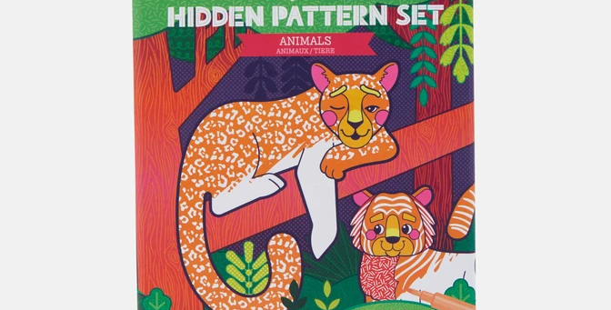 Tiger Tribe - Hidden Pattern Set - Animals