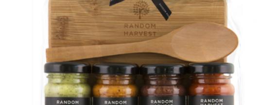 Random Harvest - Entertaining Cheese Board