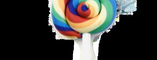 Sweet As Sugar Jewellery - Rainbow Lollipop Hair Clip