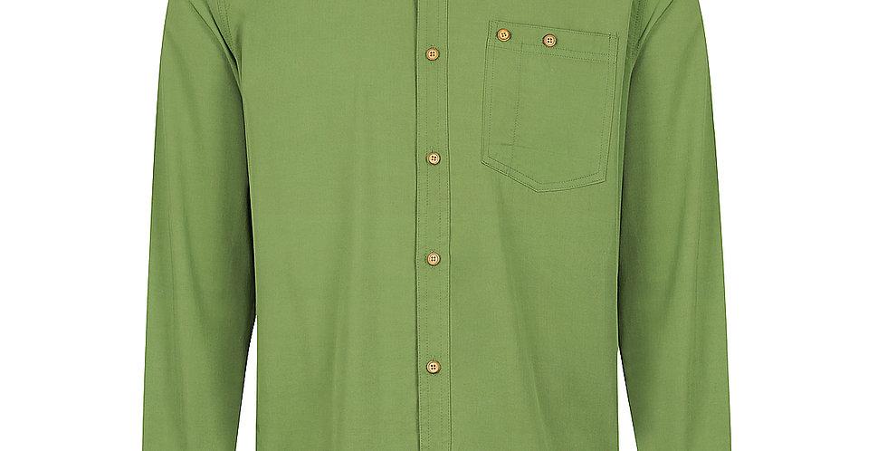 Men's Woven Long Sleeve Button Shirt