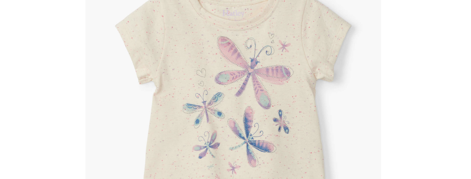 Hatley - Painted Dragonflies Baby Tee