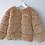 Thumbnail: Sweet Pea - Brown Fur Coat