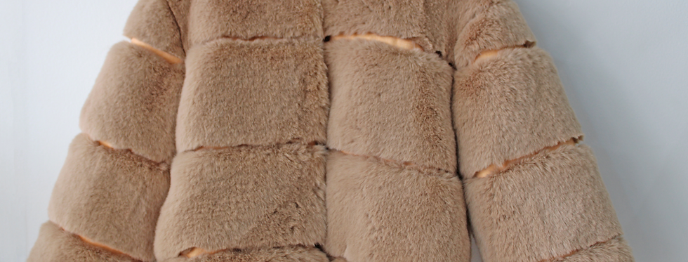 Sweet Pea - Brown Fur Coat