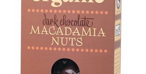 Organic Times - Dark Chocolate Macadamia Nuts