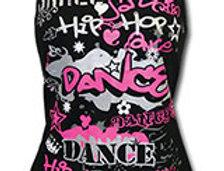 Mad Ally - Hot Pink Graffiti Singlet