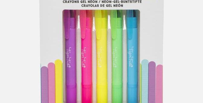Tiger Tribe - Neon Gel Crayons