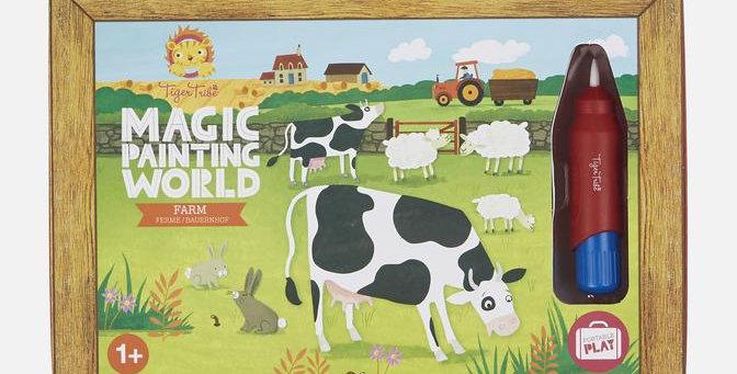 Tiger Tribe - Magic Painting World - Farm