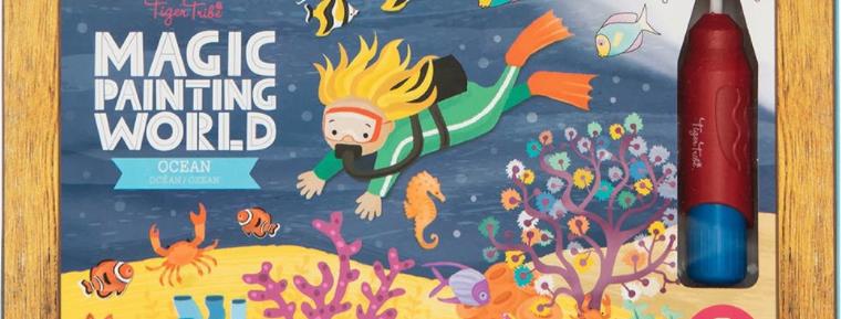 Tiger Tribe - Magic Painting World - Ocean