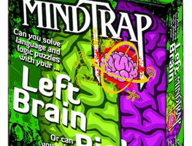 Logical Toys - Mindtrap Card Game - Left Brain Right Brain