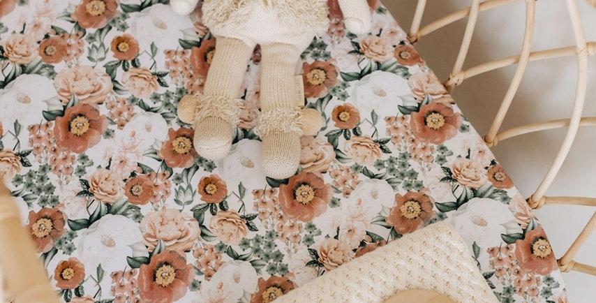 Snuggle Hunny - Florence Bassinet Sheet / Change Pad Cover