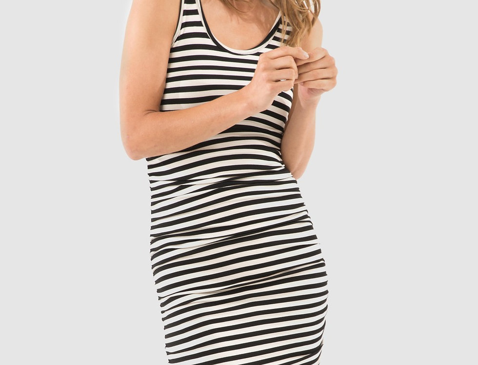 Bamboo Body - Ruched Tank Dress