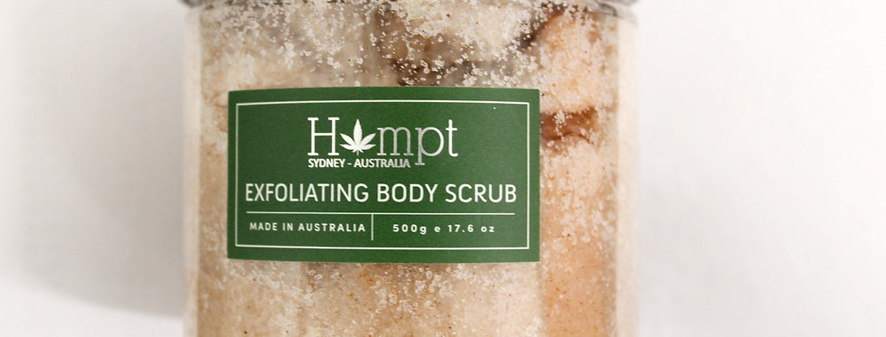 Hempt -  500gm Hemp Oil Body Scrub