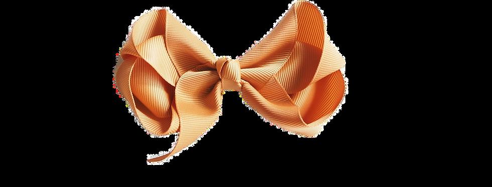 Snuggle Hunny - Mustard Clip Bow