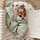 Thumbnail: Snuggle Hunny - Honeydew | Organic Muslin Wrap