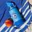 Thumbnail: copy of Cheeki Kids Insulated Water Bottle - Sammy The Shark