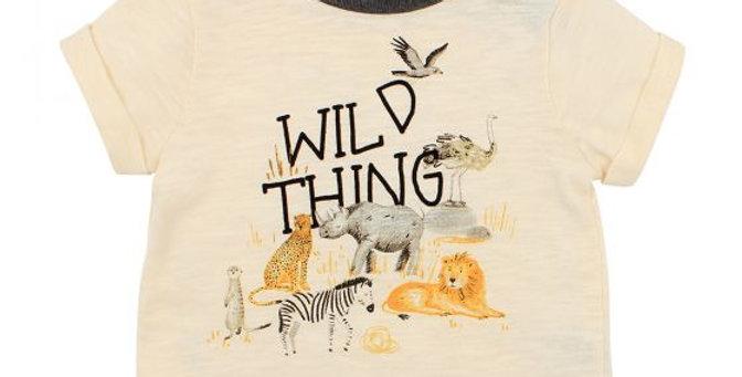 Mini Haha - FOX & FINCH Wild Things Tee