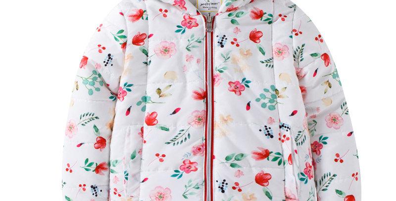 Sweet Pea - Pockets Full Of Flowers Puffer Jacket
