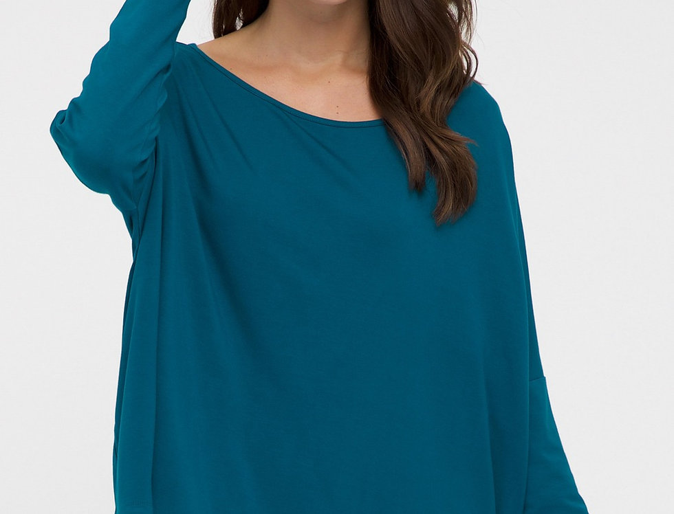 Bamboo Body - Relax Boatneck Dark Teal