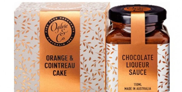 OGILVIE & CO - Orange & Cointreau Cake Pake