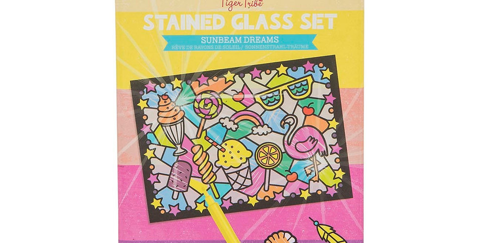Tiger Tribe - Stained Glass Set - Sunbeam Dream