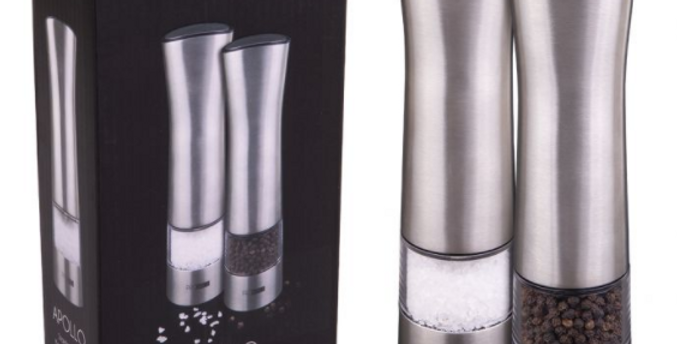 Apollo - Salt and Pepper Mill Set