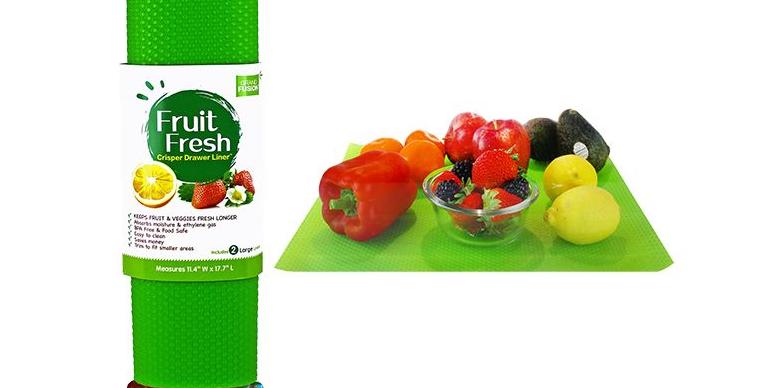 Fruit Fresh - Crisper Drawer Liner Fresh