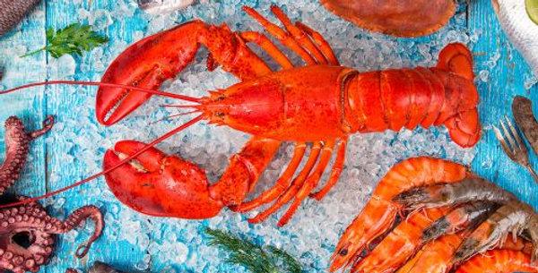 Lucheon Napkins - Sea Food
