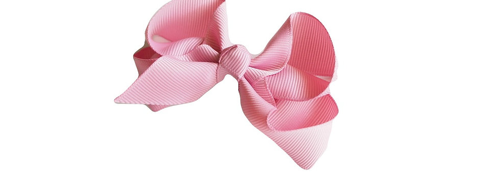 Snuggle Hunny - Dusty Pink Clip Bow