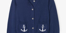 Hatley -Nautical Navy Cardigan