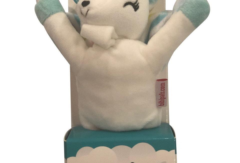 Brands 4 Kids - BibiPals White Rainbow Unicorn Plush