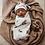 Thumbnail: Snuggle Hunny - Fox | Snuggle Swaddle & Beanie Set