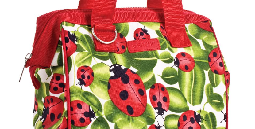 Sachi - Insulated Lunch Bag - Ladybug