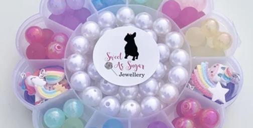 Sweet As Sugar - Flower Jewellery Making Kit