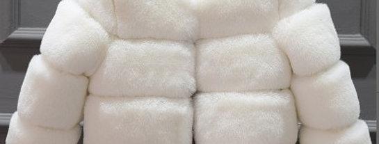 Furr Coat - White