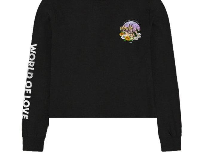 Port 213 - Smile Crop T-shirt