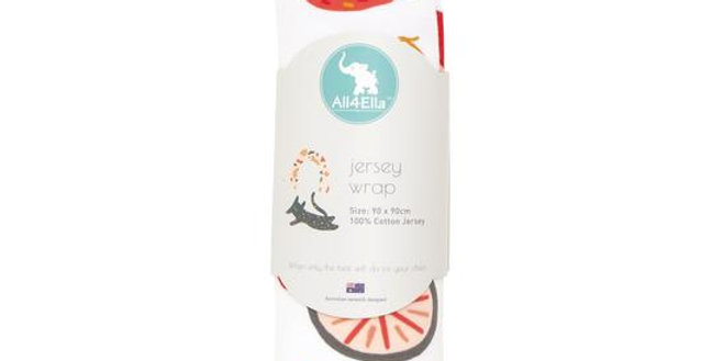 All4Ella - Jersey Wrap - Cat