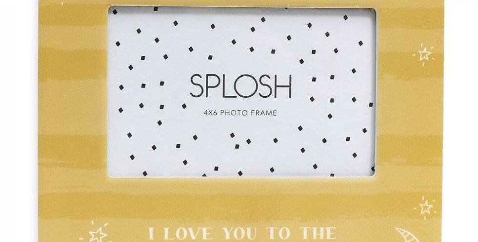 Splosh - Baby Moon 4x6 Photo Frame
