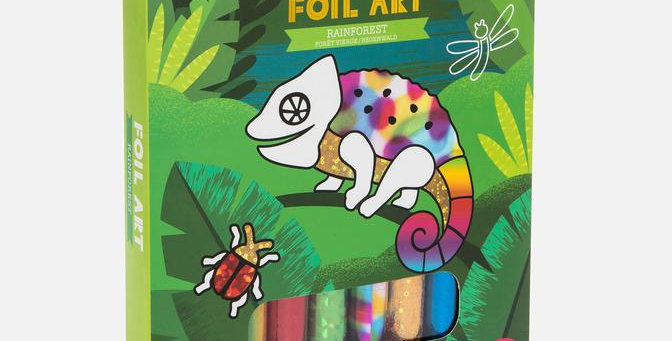 Tiger Tribe - Foil Art - Rainforest
