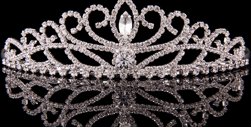 Mad Ally - Large Crystal Tiara