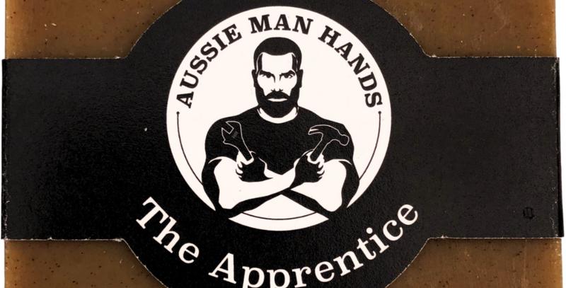 Aussie Man Hands - The Apprentice | exfoliating Natural Soap Bar 100GMS