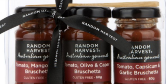 Random Harvest - Mini Me Bruschetta