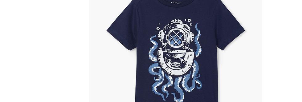 Hatley - Octopus Diver Graphic Tee