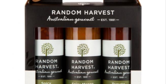 Random Harvest - Chutney Trio Carry Case