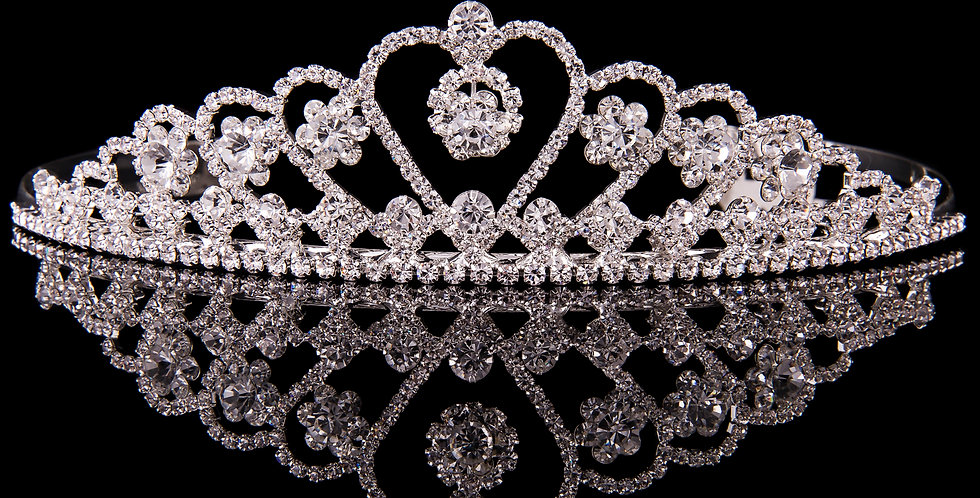 Mad Ally - Large Heart Tiara