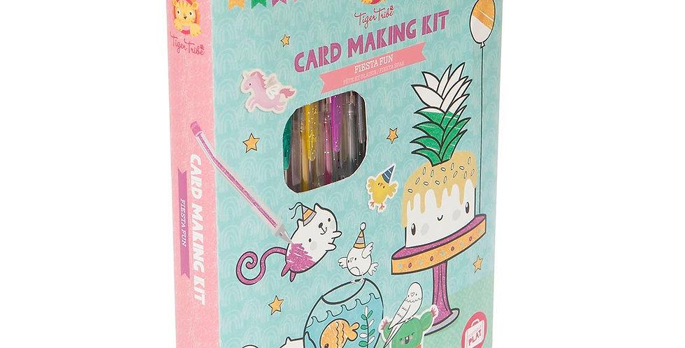 Tiger Tribe - Card Making Kit - Fiesta Fun