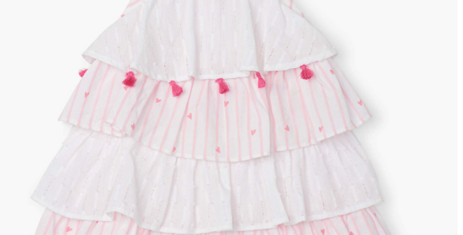 Hatley - Scattered Hearts Baby Layered Dress